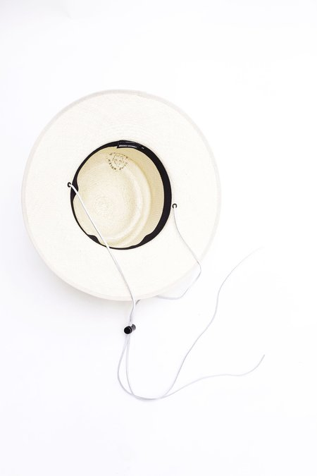 Brookes Boswell Alderman Hat - Natural Panama Straw