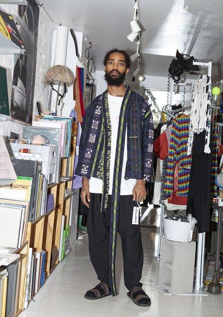 Henrik Vibskov Growing Letters Check Collect Jacket