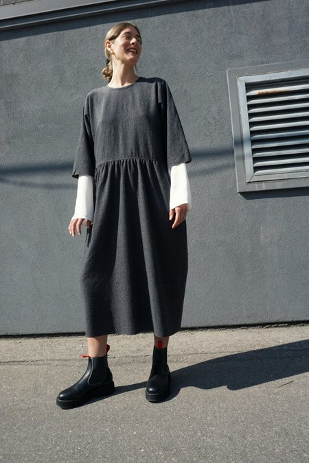 SOFIE D'HOORE WOOL GAUZE DRESS