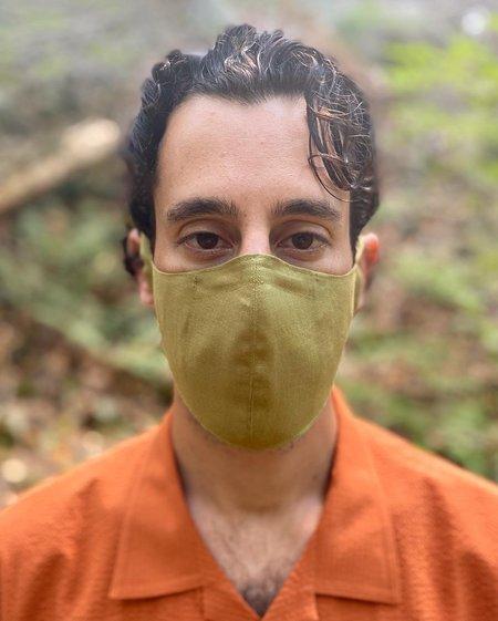 Tony Shirtmakers Italian Linen Face Mask - Light Puce