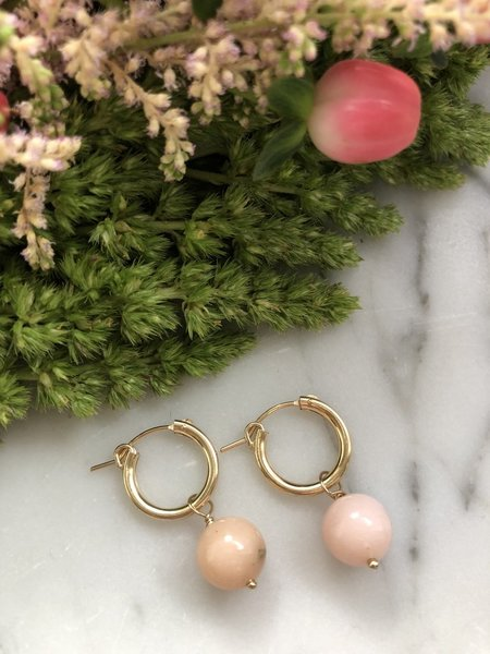 FLORA CICCARELLI 220 106 EARRINGS - gold-filled