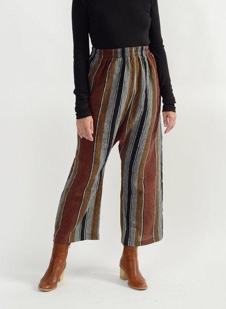 Meg Athena Relax Pant - Stripe