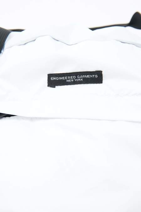 Engineered Garments Nylon Ripstop UL 3 Way Bag - White