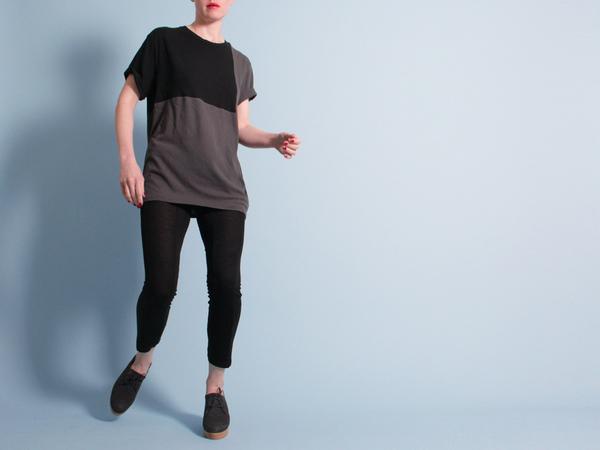 Correll Correll Ecke T-Shirt - Charcoal/Black