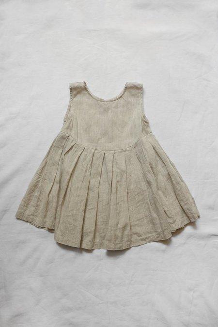 Kids Makié Lulu Linen Camisole - Natural