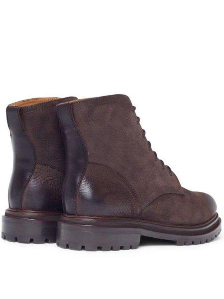Hudson Lingshaw Nubuk Boot - Brown