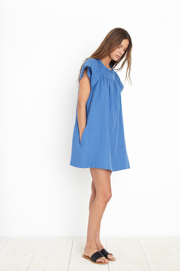 APIECE APART CRETE DRESS