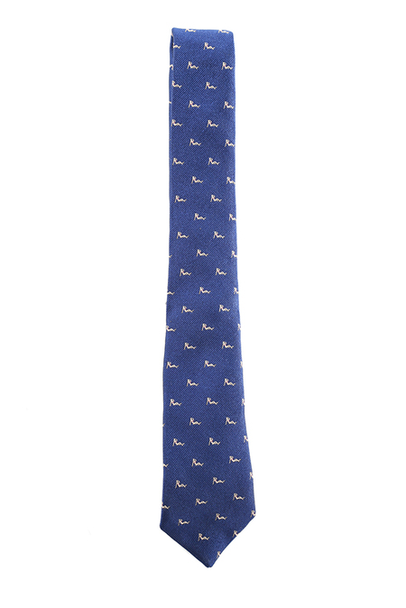 Rag & Bone Pin Up Tie - Blue