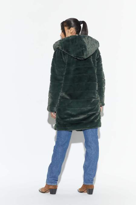 Apparis Celina Faux Fur Jacket - Army Green