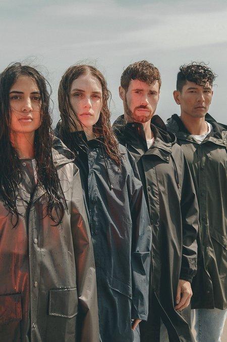 Unisex Rains Fishtail Parka - Black