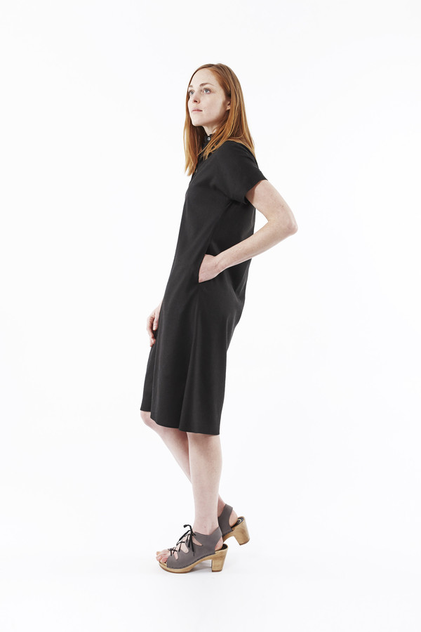 PLANTE Breeze Dress in Black