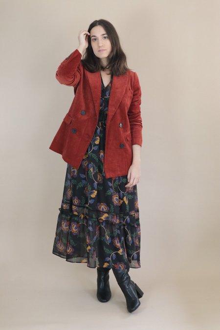Just Female Jane Blazer - Red Ochre