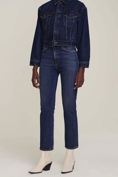 Agolde Wilder Mid Rise Comfort Straight Jean - Hype