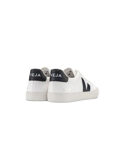 VEJA Campo Chromefree Leather shoes - white/black
