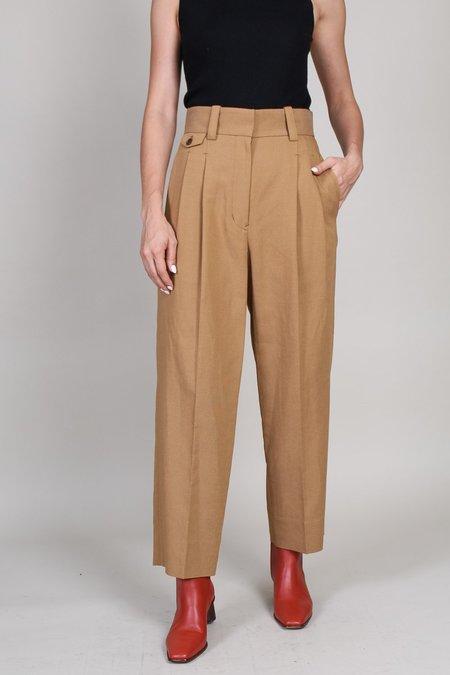 Sayaka Davis Two tuck Trousers - Chestnut