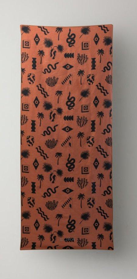 Sora Amble Towel - Rust