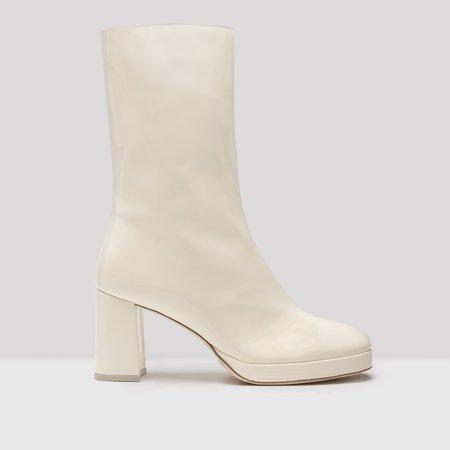Miista Carlota Boot - Buttermilk Patent