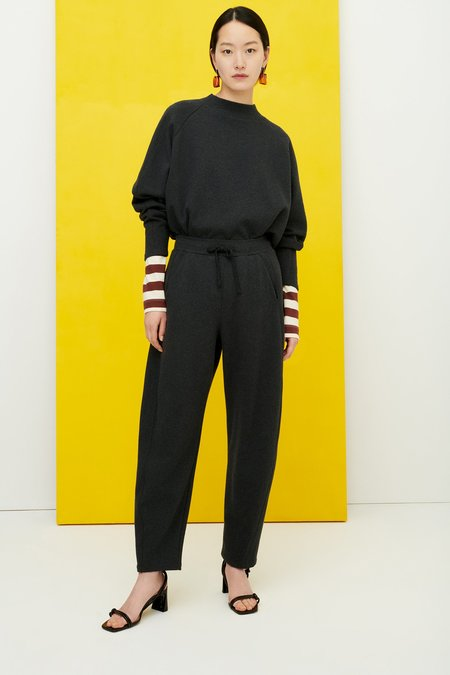 Kowtow Linear Pant - Charcoal Marle