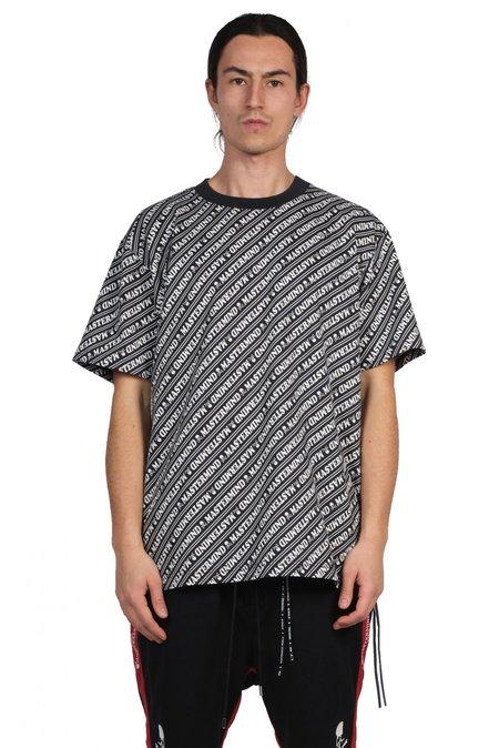 Mastermind World All Over Print T shirt - Black