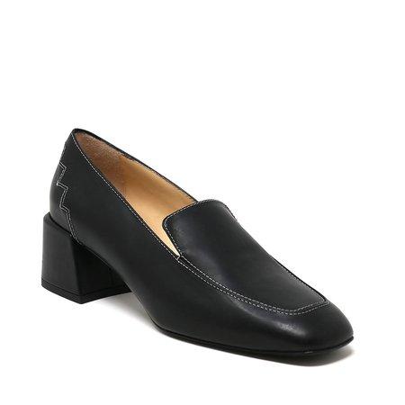 Sylven New York Marlene Leather Loafer - Black