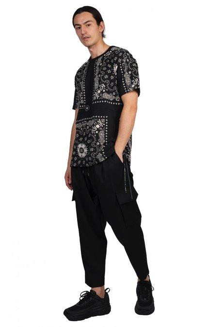 Mastermind World Bandana T Shirt - Black