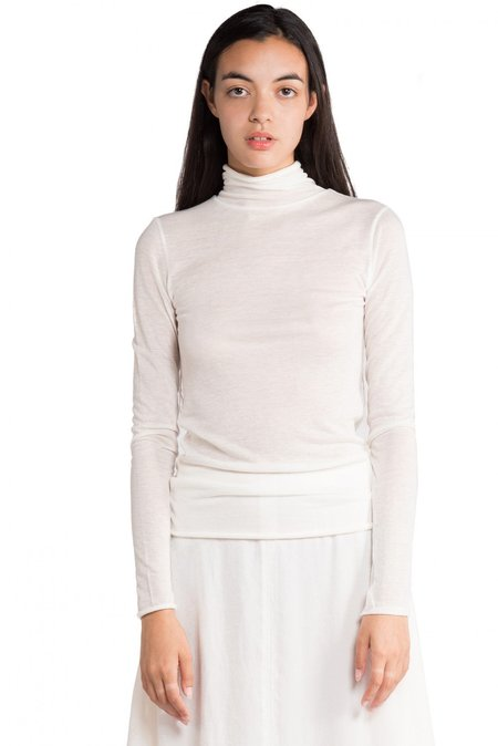 GREYYANG Turtle Neck L/S TEE - IVORY