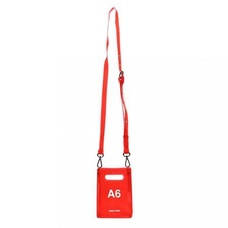 nana-nana A6 Bag - Red
