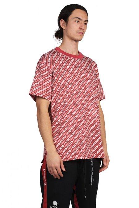 Mastermind World Diagonal Logo T-Shirt - Red