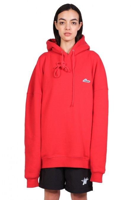 we11done Wapen Logo Hoodie - Red