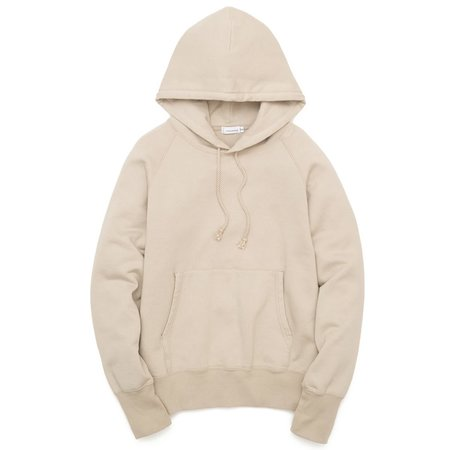 Nanamica Hooded Pullover Sweater - Beige