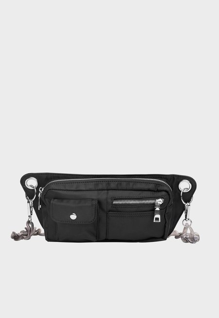 HVISK Brillay Nylon Bum Bag - Jet Black