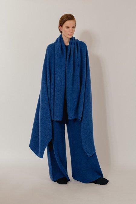 Oyuna Taban Wool Cashmere Throw - Blue Mix