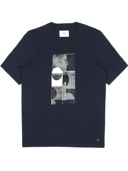 Folk Clothing Folk Fracture T-Shirt - Navy