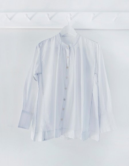 Karu The Potters Blouse - White