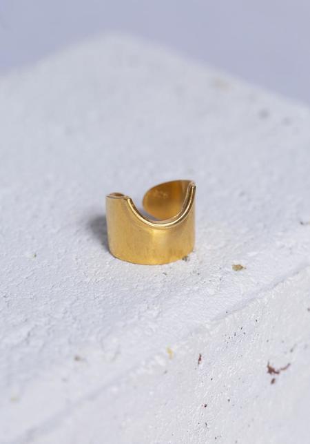 Aziza Sun Ring - Gold Vermeil
