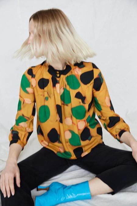 Eve Gravel Acacia Blouse - Klimt