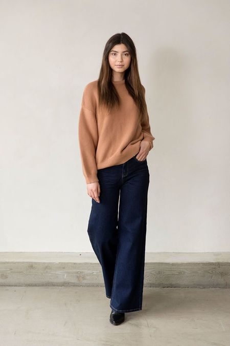 I DIG DENIM Mist Knitted Sweater - Nude