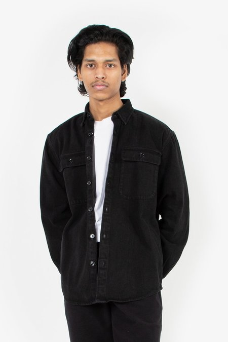 Schnayderman's Boxy Denim Shirt - Black