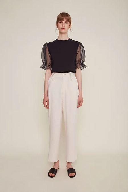 Rita Row Milan Pants - Natural