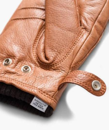 Norse Projects X Hestra Utsjo Gloves - Tobacco