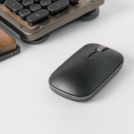 Poketo Azio Retro Classic Mouse - Gunmetal