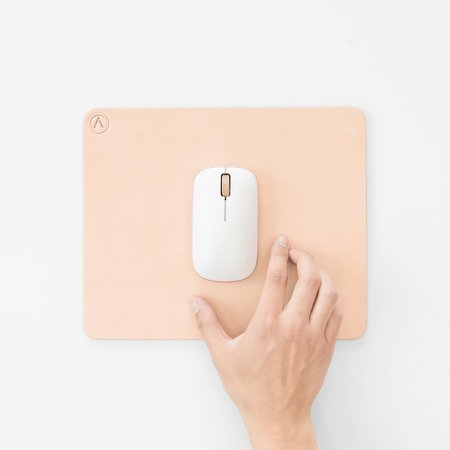 POKETO Azio Retro Classic Mouse - White