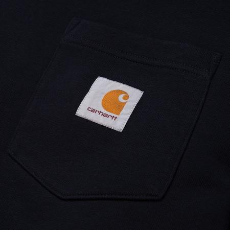 CARHARTT WIP POCKET SWEAT - Dark Navy