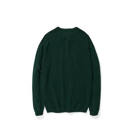 Norse Projects Sigfred Lambswool Sweater - Quartz Green