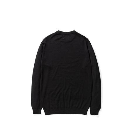 Norse Projects Sigfred Light Merino Sweater - Black