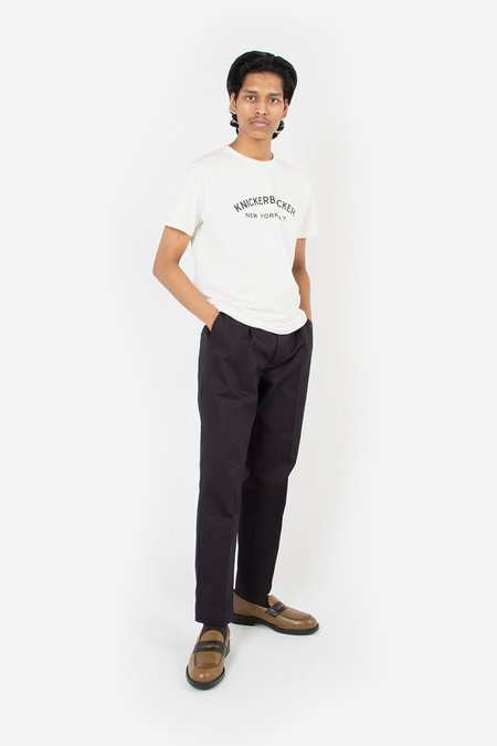 Knickerbocker Core Logo T-Shirt - Milk