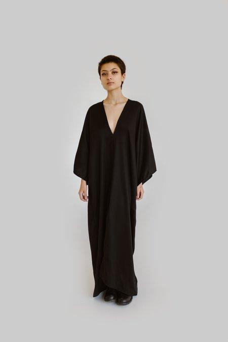 m e ç l â Nina Tencel Dress - Black