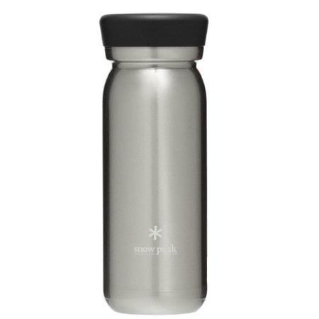 Snow Peak Milk Bottle 500 - STAINLESS STEEL