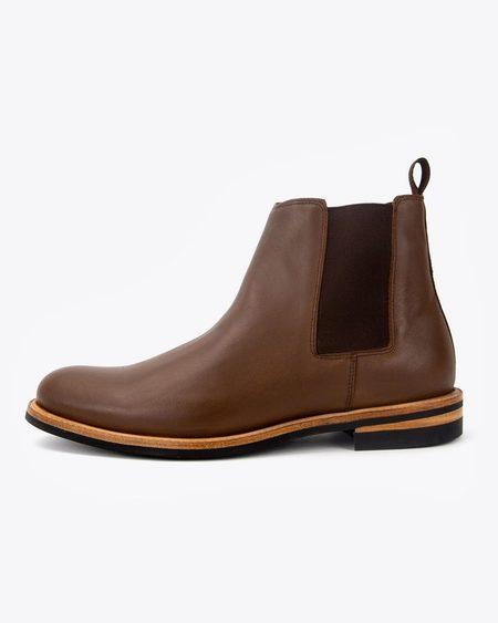 Nisolo Javier Chelsea Boot - Brown