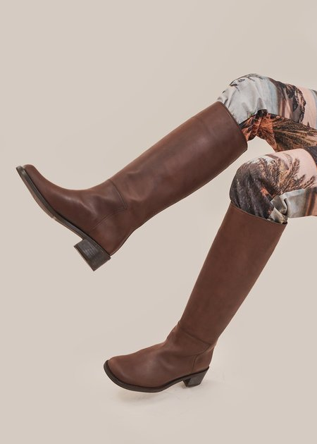AMOMENTO Long Boots